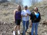 Fox Lake project  team: Shawna Henderson, Billy Beardy , Donna Lundie